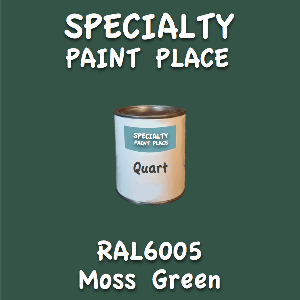 RAL 6005 moss green quart