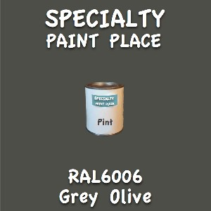 RAL 6006 grey olive pint