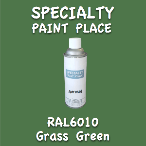 RAL 6010 grass green 16oz aerosol can