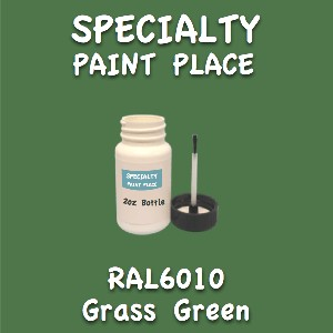 RAL 6010 grass green 2oz bottle with brush