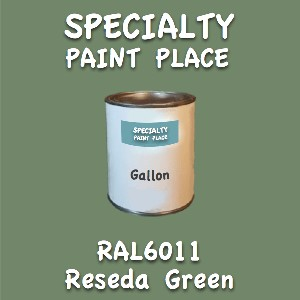 RAL 6011 reseda green gallon
