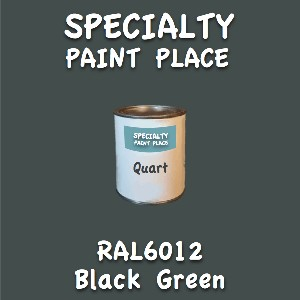 RAL 6012 black green quart