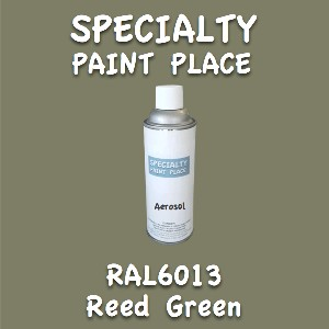 RAL 6013 reed green 16oz aerosol can