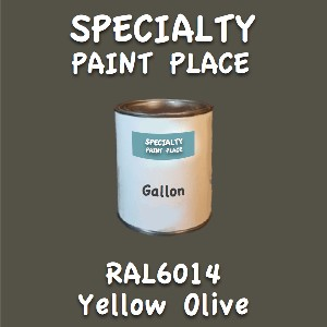 RAL 6014 yellow olive gallon