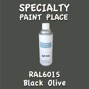 RAL 6015 black olive 16oz aerosol can
