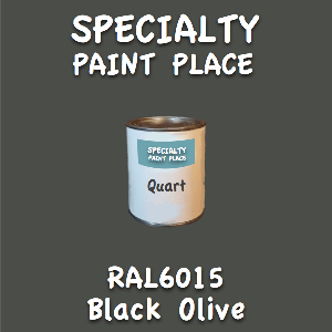 RAL 6015 black olive quart