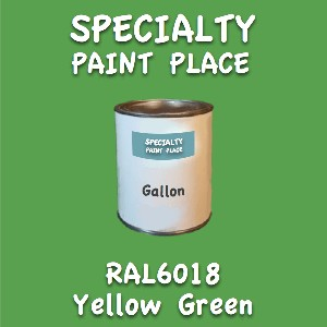 RAL 6018 yellow green gallon