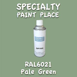 RAL 6021 pale green 16oz aerosol can