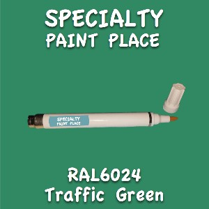RAL 6024 traffic green pen