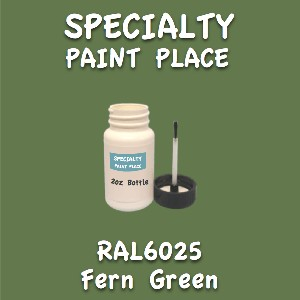 RAL 6025 fern green 2oz bottle with brush