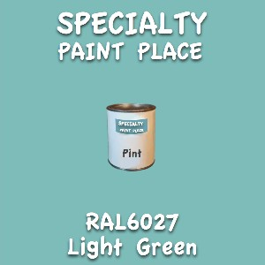 RAL 6027 light green pint