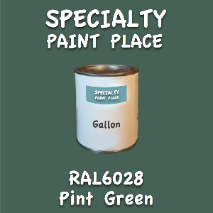RAL 6028 pine green gallon