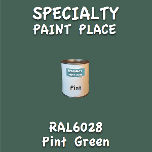 RAL 6028 pine green pint