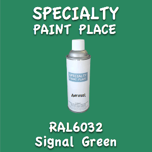 RAL 6032 signal green 16oz aerosol can
