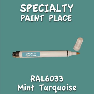 RAL 6033 mint turquoise pen