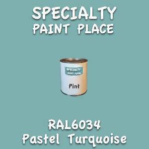 RAL 6034 pastel turquoise pint