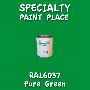 RAL 6037 pure green pint