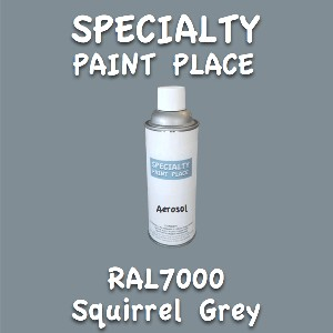 RAL 7000 squirrel grey 16oz aerosol can