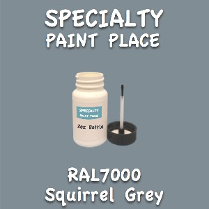 RAL 7000 squirrel grey 2oz bottle with brush