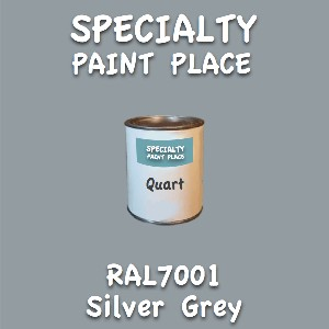 RAL 7001 silver grey quart