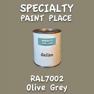 RAL 7002 olive grey gallon