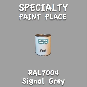 RAL 7004 signal grey pint