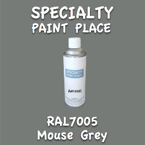 RAL 7005 mouse grey 16oz aerosol can