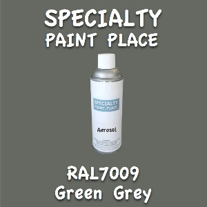 RAL 7009 green grey 16oz aerosol can