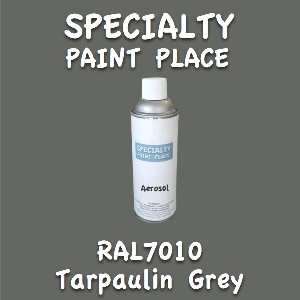 RAL 7010 tarpaulin grey 16oz aerosol can