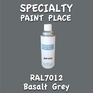 RAL 7012 basalt grey 16oz aerosol can