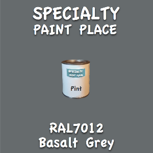 RAL 7012 basalt grey pint