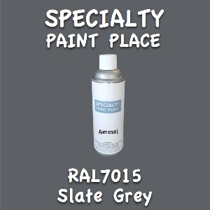 RAL 7015 slate grey 16oz aerosol can