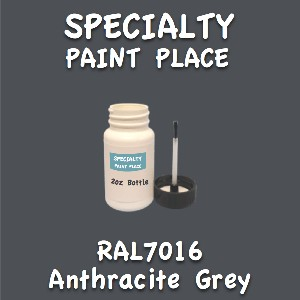 RAL 7016 anthracite grey 2oz bottle with brush