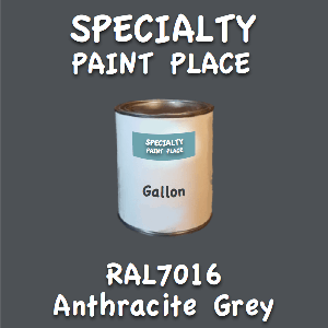 RAL 7016 anthracite grey gallon