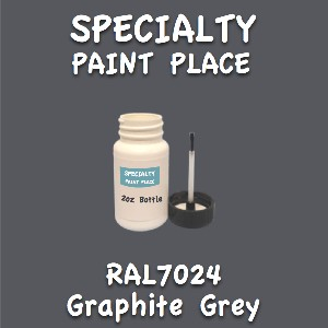RAL 7024 graphite grey 2oz bottle with brush