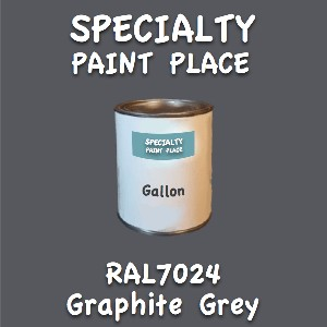 RAL 7024 graphite grey gallon