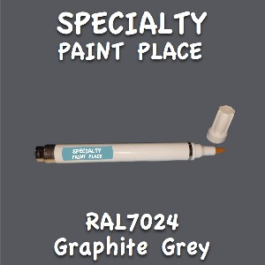 RAL 7024 graphite grey pen