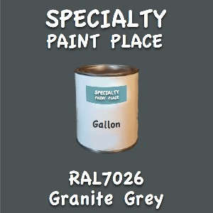 RAL 7026 granite grey gallon