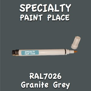 RAL 7026 granite grey pen