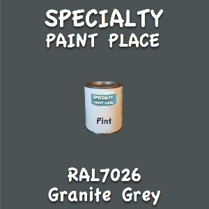 RAL 7026 granite grey pint