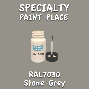 RAL 7030 stone grey 2oz bottle with brush