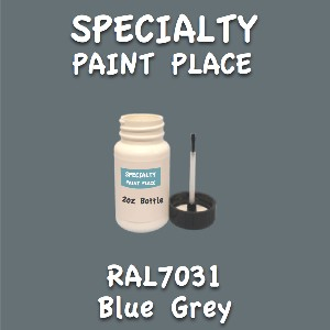 RAL 7031 blue grey 2oz bottle with brush