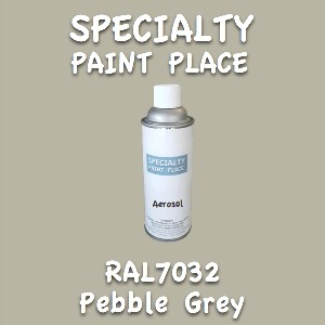 RAL 7032 pebble grey 16oz aerosol can