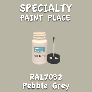 RAL 7032 pebble grey 2oz bottle with brush
