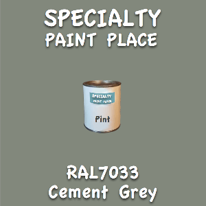 RAL 7033 cement grey pint