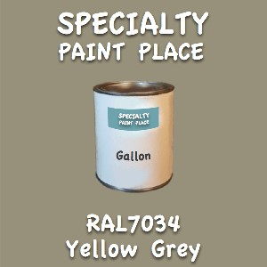 RAL 7034 yellow grey gallon