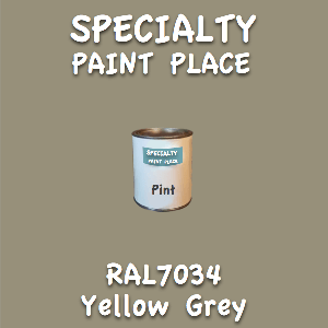 RAL 7034 yellow grey pint