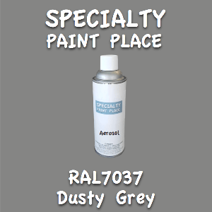 RAL 7037 dusty grey 16oz aerosol can