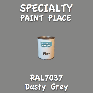 RAL 7037 dusty grey pint