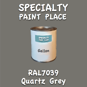RAL 7039 quartz grey gallon